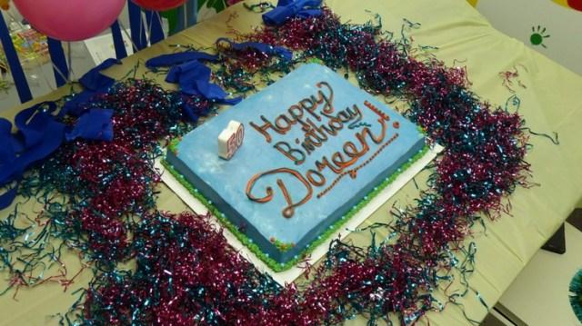 Card founder dr doreen granpeeshehs birthday cake happy