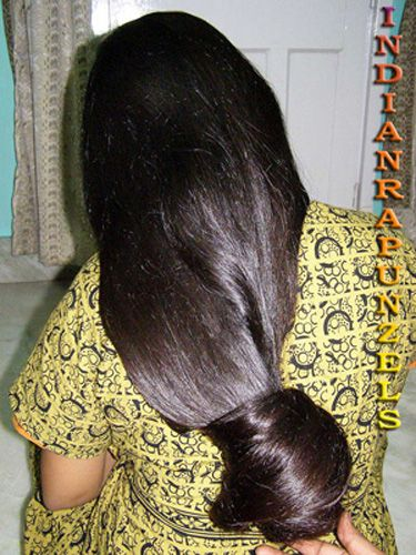 47 Best Images About Indian Long Hair Bun On Pinterest