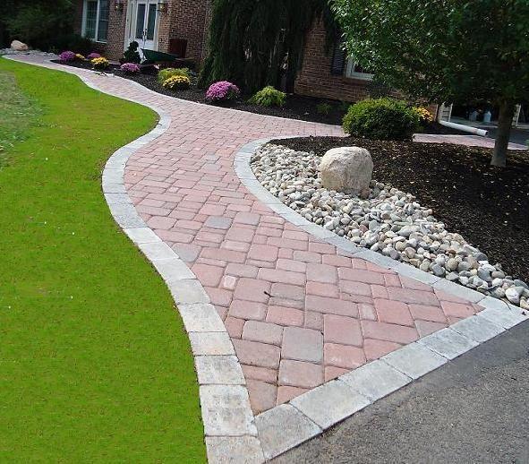 walkway paver patio designs Best 25+ Paver walkway ideas on Pinterest