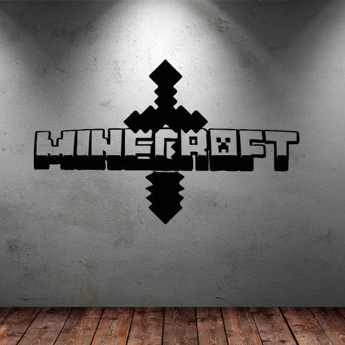 28 best images about cricut minecraft boys room decor on on wall decals id=77462