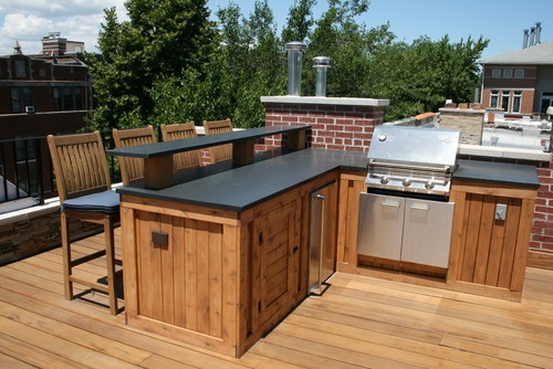 141 best images about outdoor kitchen patio deck on pinterest deck benches planters and built on outdoor kitchen on deck id=53903