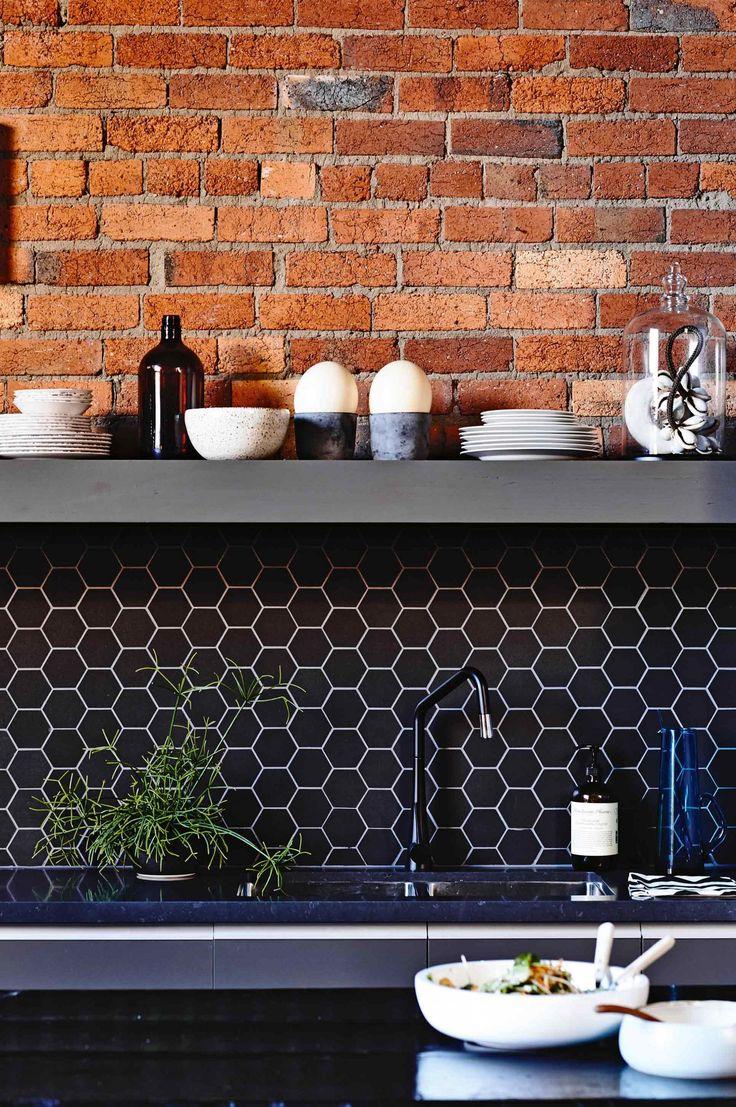 Kitchen splashbacks - 8 ideas from insideout.com.au. Styling by Rachel Vigor. Photography by Derek Swalwell.: