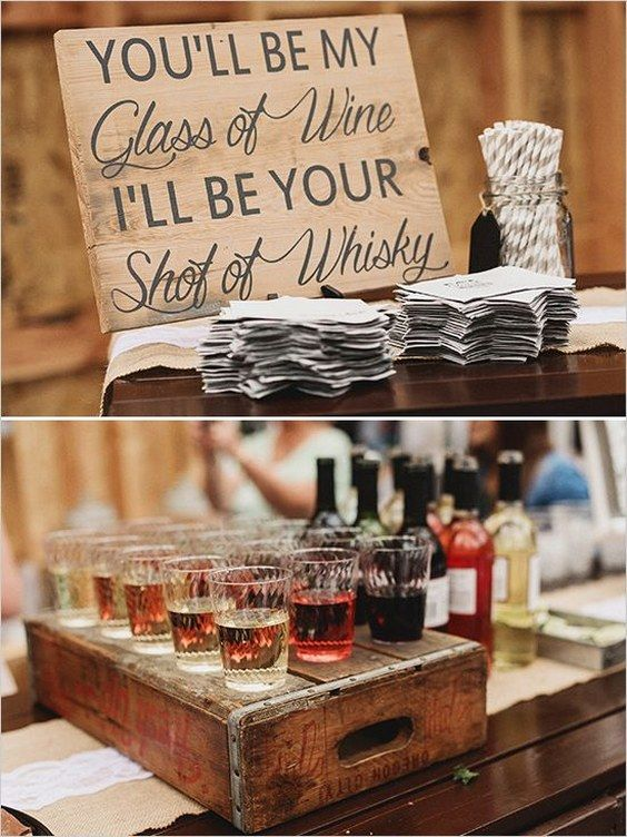 rustic country wedding bar details / www.deerpearlflow…