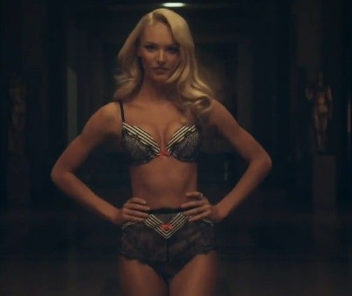 Angel Candice Swanepoel for VS Holiday 2013 TV Commercial ...