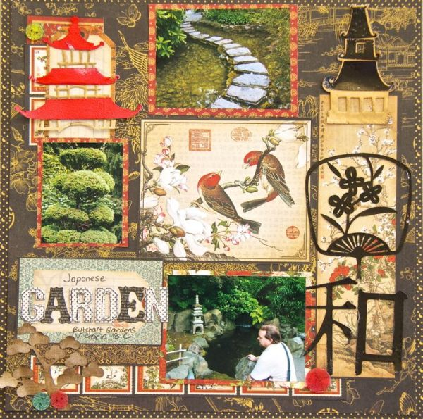 japanese garden designs and layouts 90 best images about Scrapbooking Japanese garden on