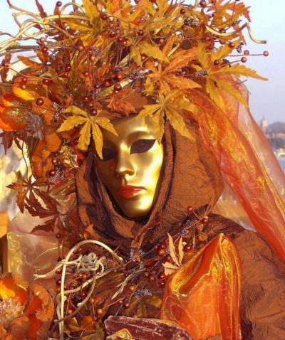 ❥*~~*❥ Reine d'Automne - Carnaval de Venise:
