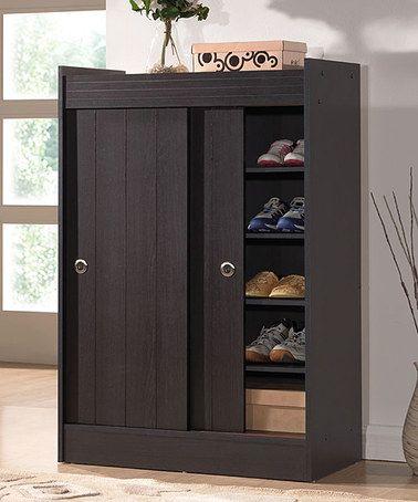 dark brown sliding doors and dark on pinterest on shoe rack wooden with door id=37151