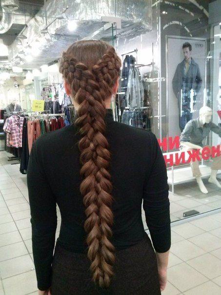 Long Long Braid Ukrainian Hair Style Amp Ukrainian