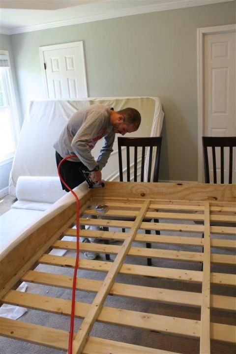 Building Your Own Bed Frame Projects To Try Pinterest