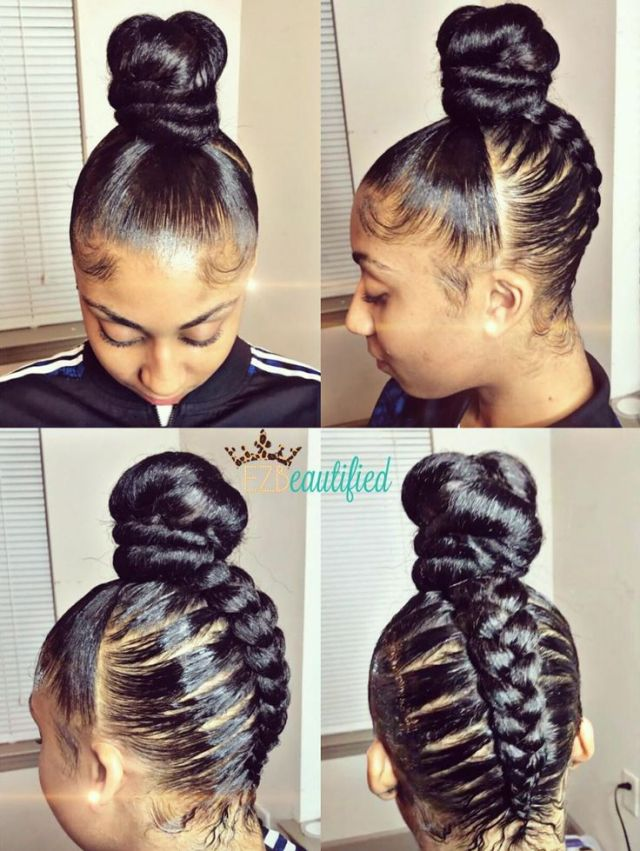 89 best images about Flawless Hair BUNS UPDO S  on