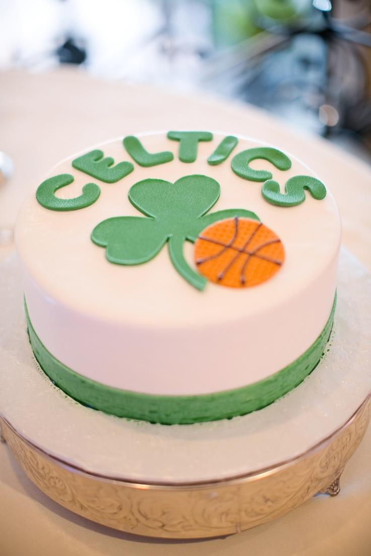 Boston Celtics Groom Cake Engagement Wedding Pinterest