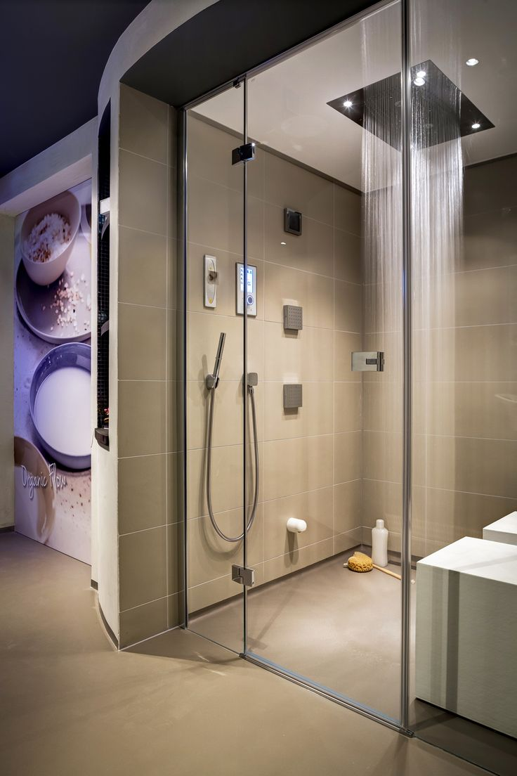 Cleopatras Steam Shower With Hansgrohe RainBrain Shower