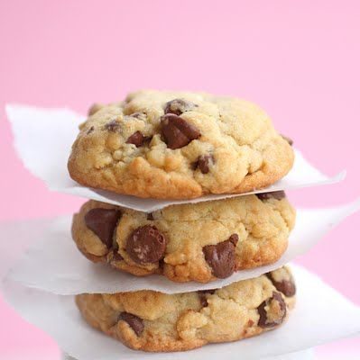 Hard Boiled Egg Choc Chip Cookie–you use hard boiled eggs instead of raw in the