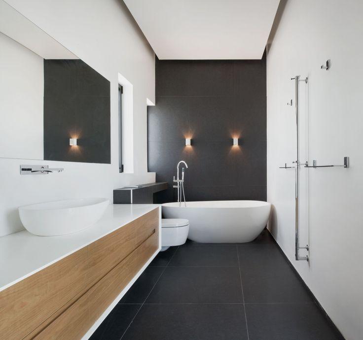 charcoal grey bathroom tiles