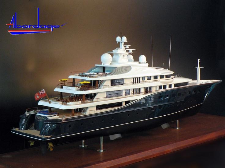 17 Best Images About Custom Mega Yacht Models On Pinterest