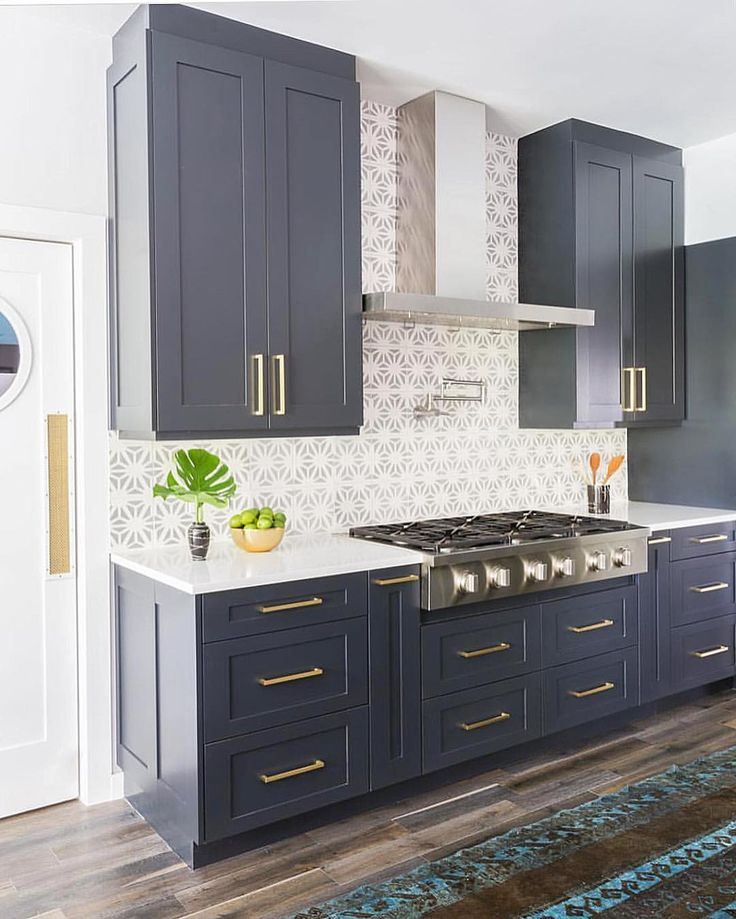 302 best images about kitchen on pinterest butcher block countertops under stair storage and on kitchen cabinets blue id=33337