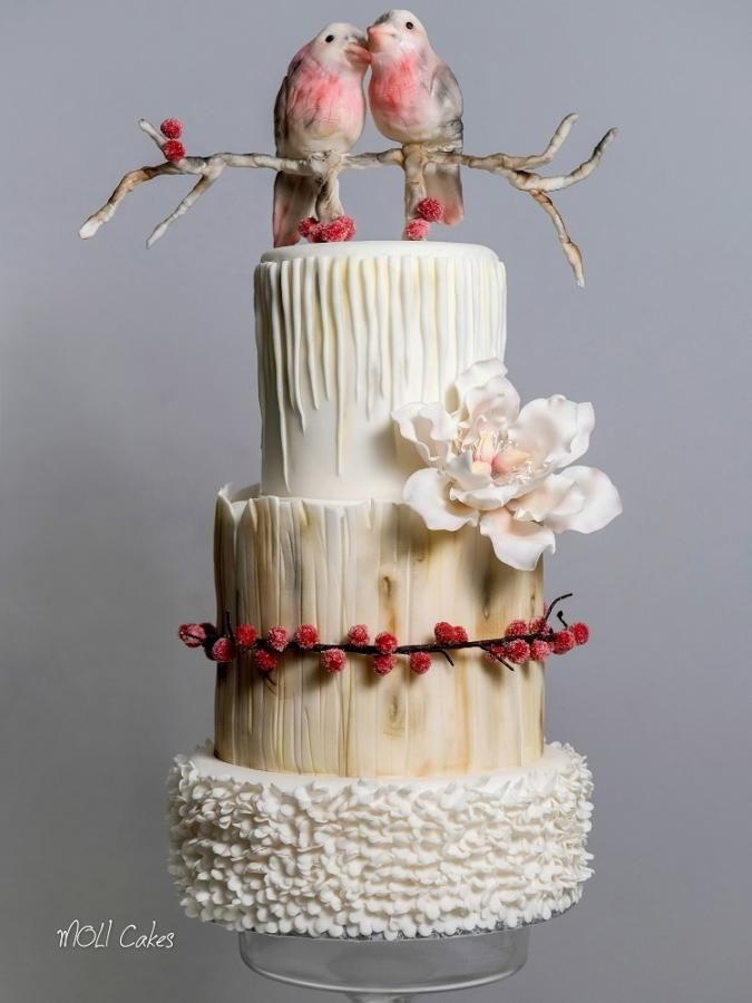 78 Ideas About Bird Cakes On Pinterest Decorating Cakes