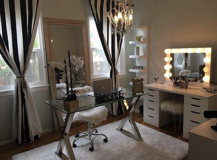 17 Best images about Makeup Room on Pinterest | Makeup ... on Makeup Room Design  id=90480