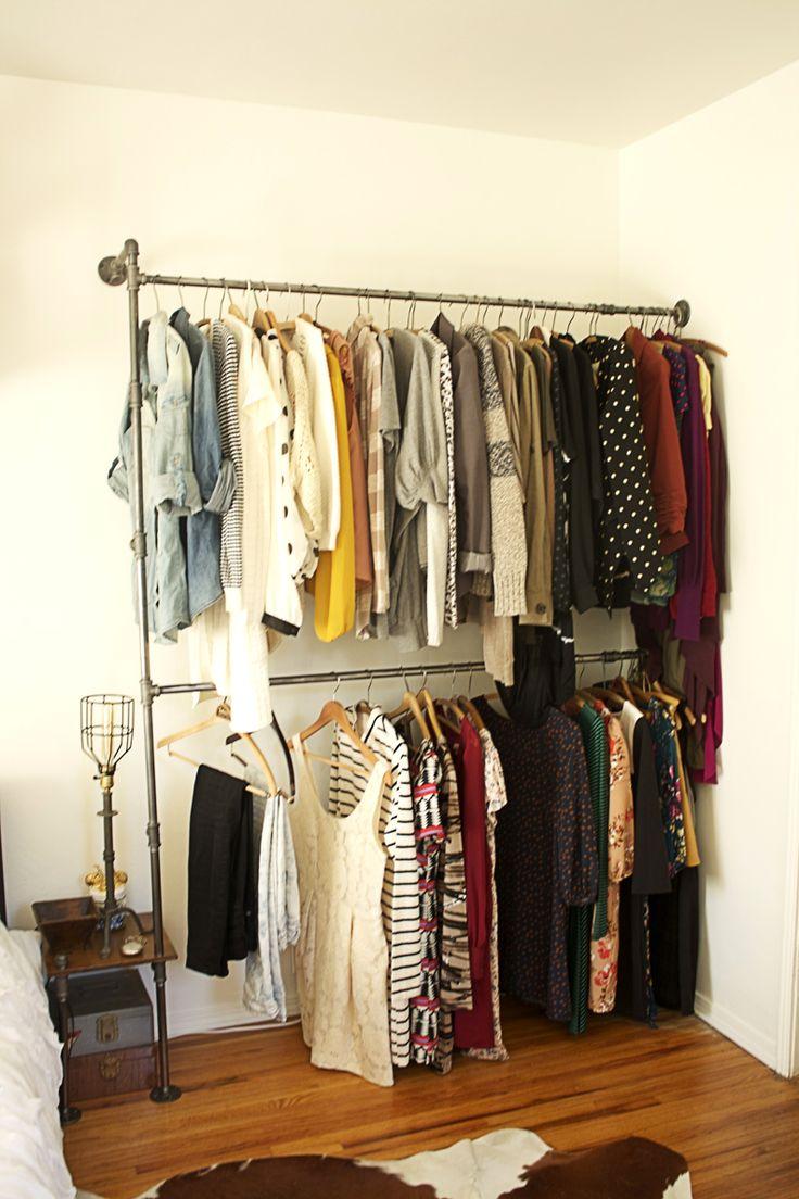 Great idea. Make you closet like a retail boutique!