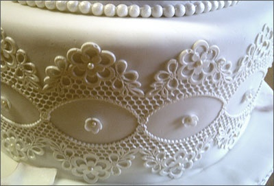 Silicone Lace Molds For Use With SugarVeil Icing Molds