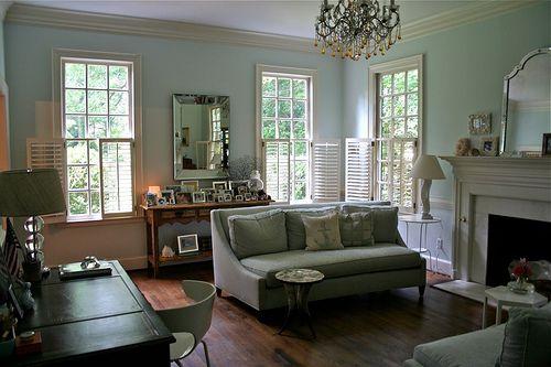Benjamin More Palladian Blue Living Room Benamin Moore S