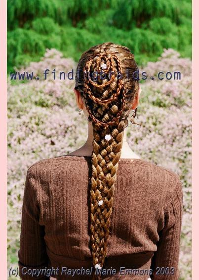 Seven Strand Single Braid Hair Pinterest Single