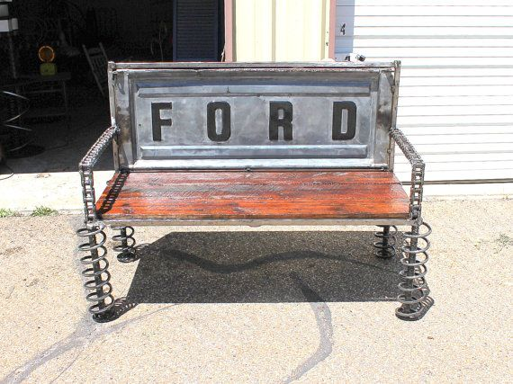 Ford Tailgate Bench Truck Tail Gate Benches Reclaimed