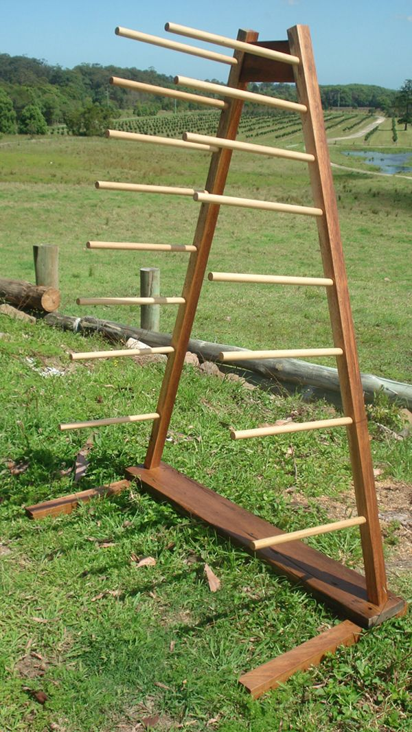 Freestanding Storage Rack Wooden Boat