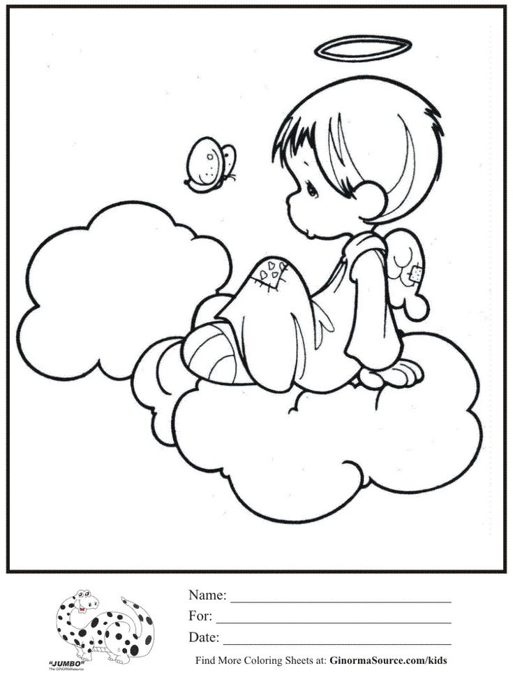 best images about coloring precious moments  angels on