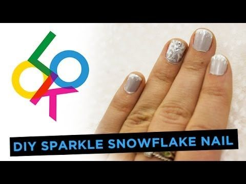 17 Best Ideas About Snowflake Nails On Pinterest Holiday