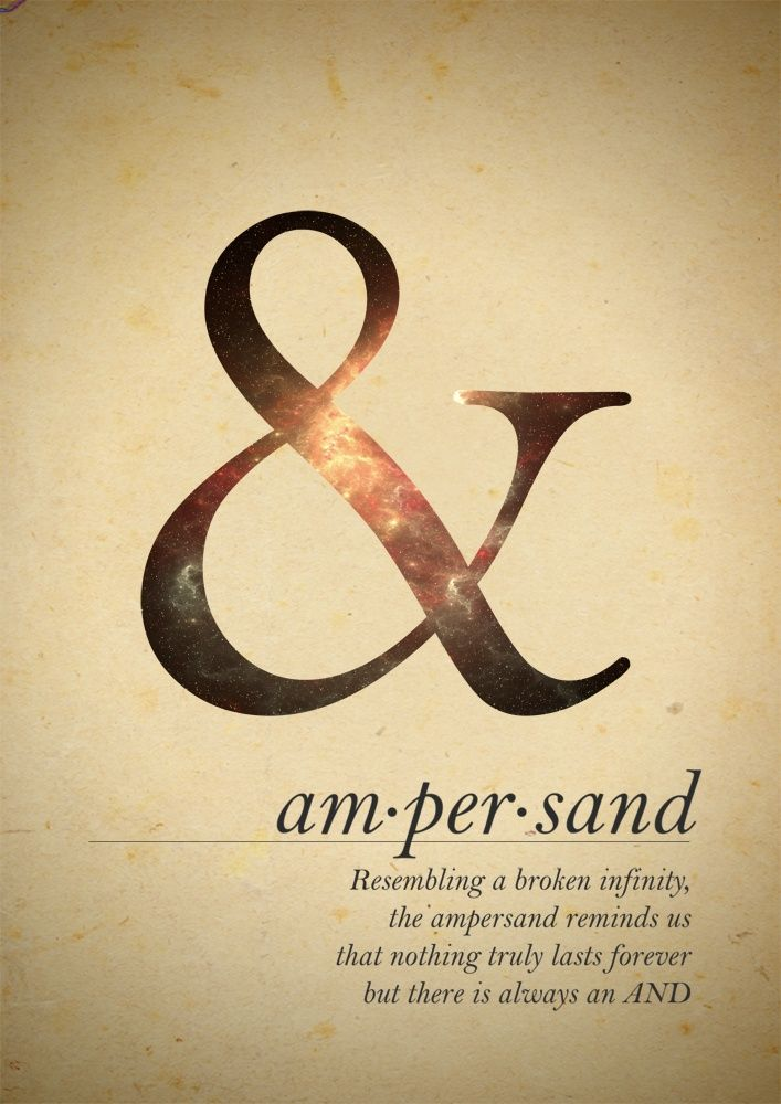 Ampersand – Resembling a br