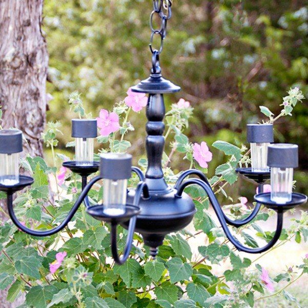 13 Spectacular Things To Make For Your Yard Using 1 Solar Lights