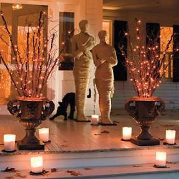 Halloween decorations : IDEAS & INSPIRATIONS Grandin Road-Halloween Decorating: