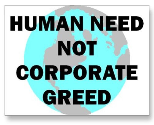 Corporate Greed Is Ruining This Country