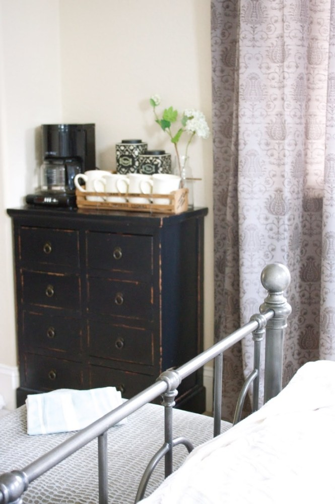 Coffee Bar In The Guest Bedroom