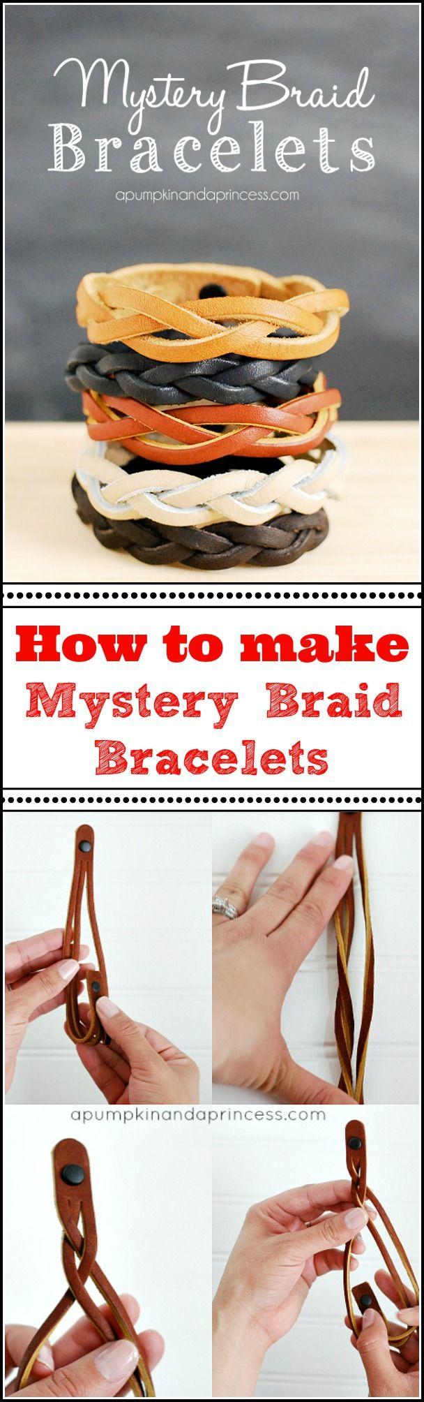 How to make a Mystery Braid Bracelet – A Pumpkin And A Princess