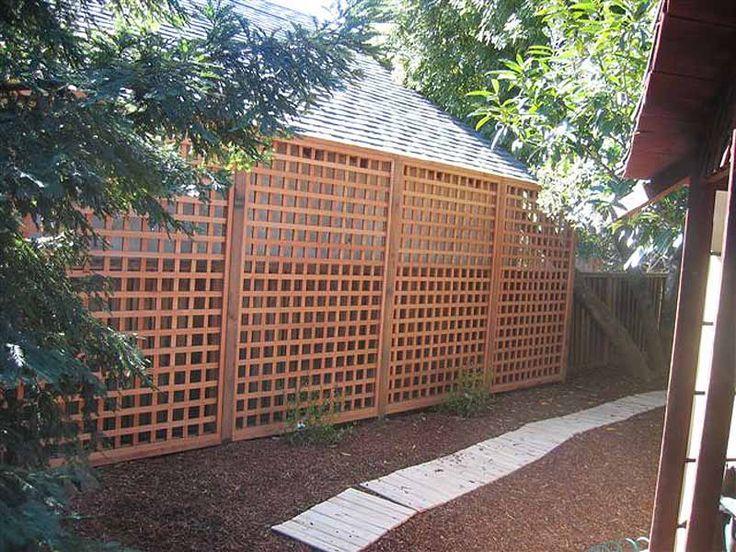 1000+ Ideas About Lattice Fence On Pinterest