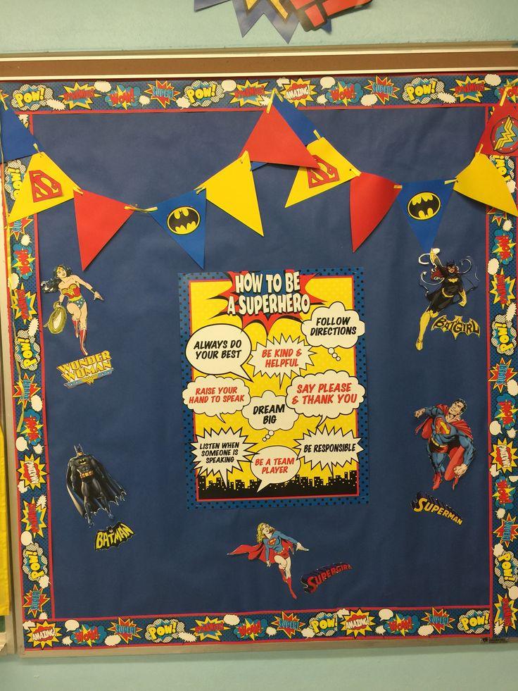 Superhero Classroom Justice League Batman Batgirl