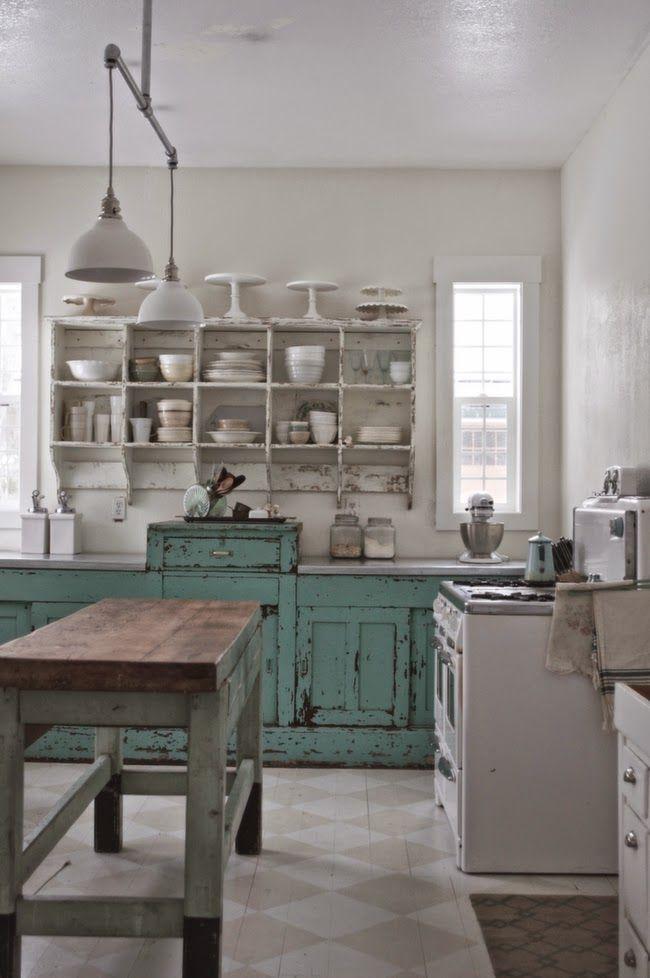1412 best primitive farmhouse kitchen images on pinterest on farmhouse kitchen wall colors id=13963