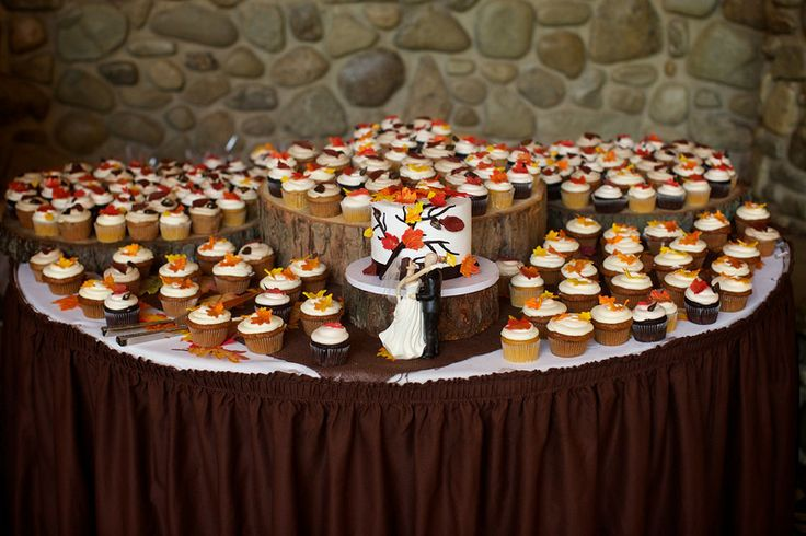 25+ Best Ideas About Fall Wedding Cupcakes On Pinterest