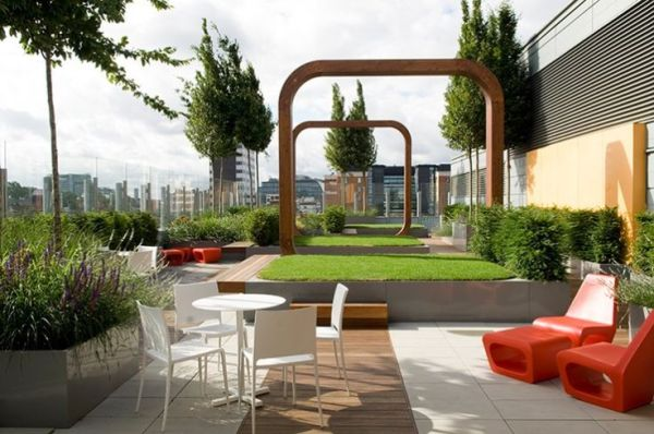 hospital rooftop gardens Great Ormond Street Hospital | Roof Gardens, terraces