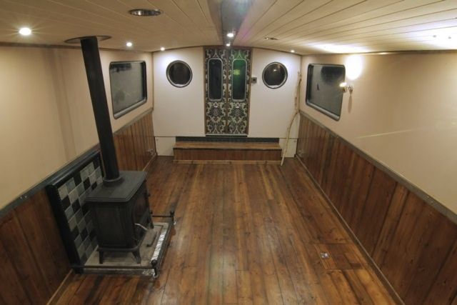 Luxury Wide Beam Canal Boat The Aeon Canal Boat Design