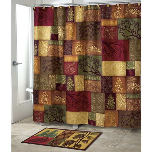 Adirondack Pine Country Shower Curtain By Avanti Country Decor Pinterest Country Country