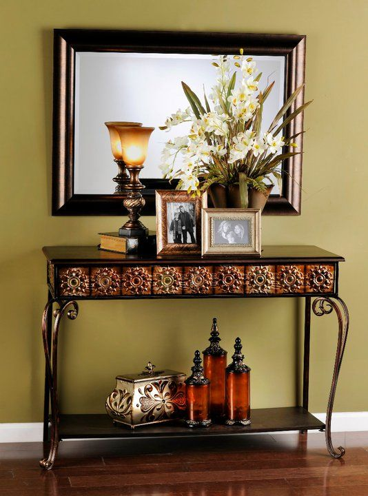 116 Best Images About Tuscan Console Decor On Pinterest