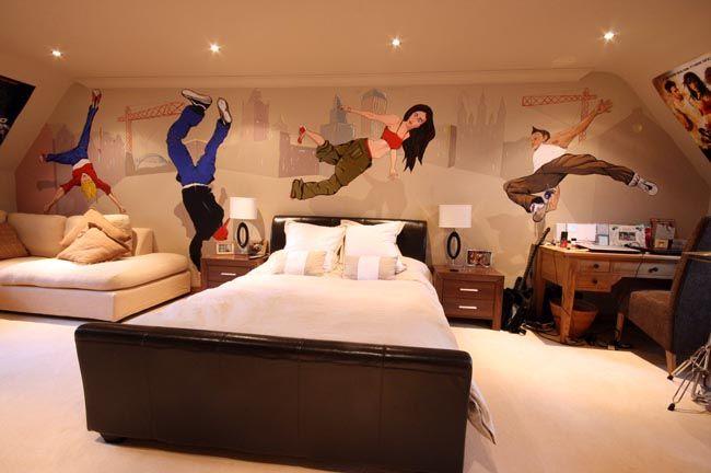 Boys Rooms Murals Dance Bedroom Ideas Mural Pinterest. Street Dance Themed Bedroom   Bedroom Style Ideas
