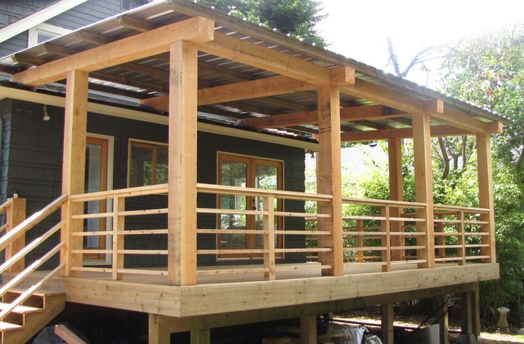 cedar beam porch ideas beams cedar decking and on steps in discovering the right covered deck ideas id=31199