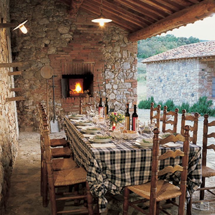 Italian Farmhouse Plans | The Cosmopolitan Tuscany Interior Design Style