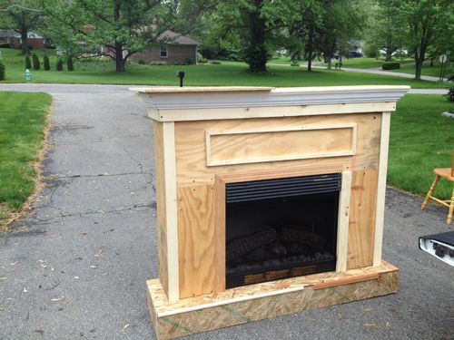 Plans Build Fireplace Enclosure