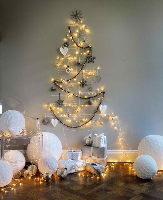 10 ideas originales para hacer tu árbol de navidad: