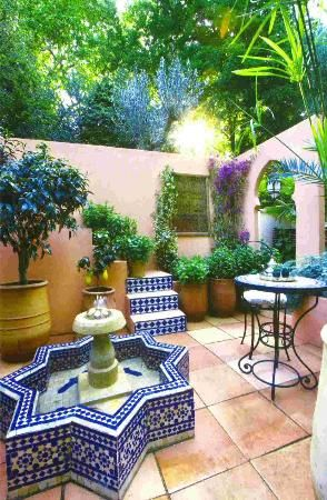 175 best images about Backyard patio ideas. Moroccan style ... on Moroccan Backyard Design  id=96555